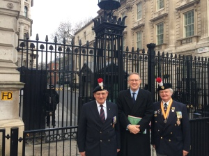 Honour Guard 10.12.13 P D Tiley Downing Street